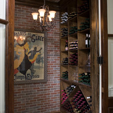 Traditional Wine Cellar by Creole Design
