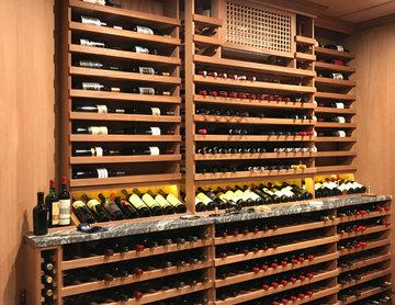 1st floor wine library