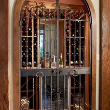 Traditional Wine Cellar by DTF Design, Inc.