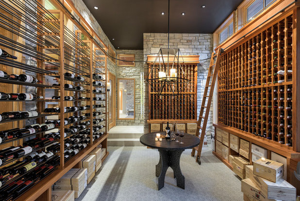 Traditional Wine Cellar by Spacecrafting / Architectural Photography