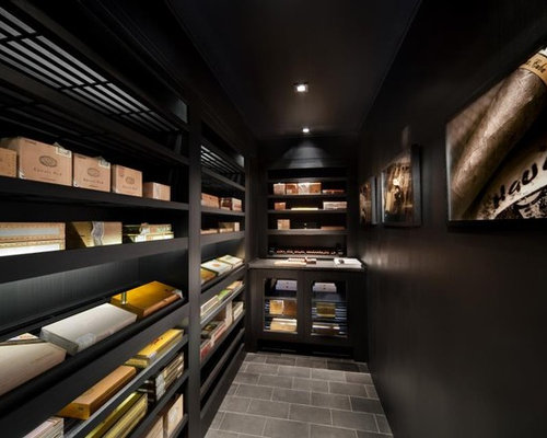Walk In Humidor | Houzz