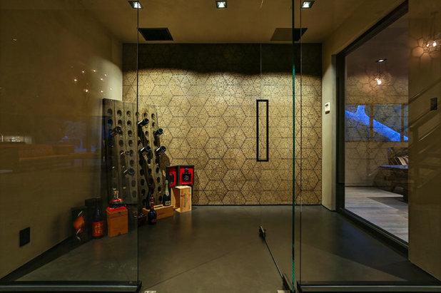 Contemporary Wine Cellar by Burdge & Associates Architects