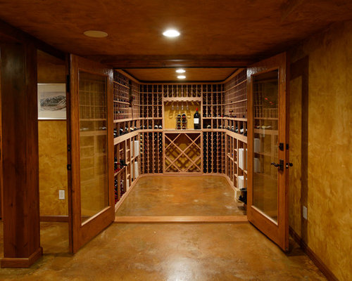 Expansive Wine Cellar Design Ideas Renovations Photos