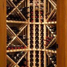 Rustic Wine Cellar by LMJ Builders LLC/Craig Johnson Construction LLC