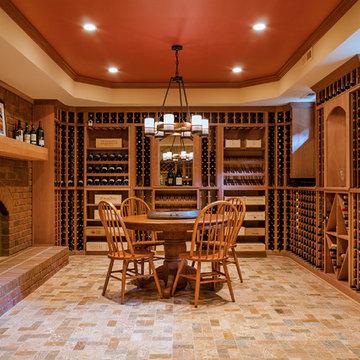 A Basement Wine Room