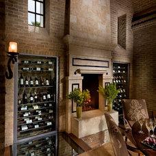 Mediterranean Wine Cellar by South Coast Architects, Inc.