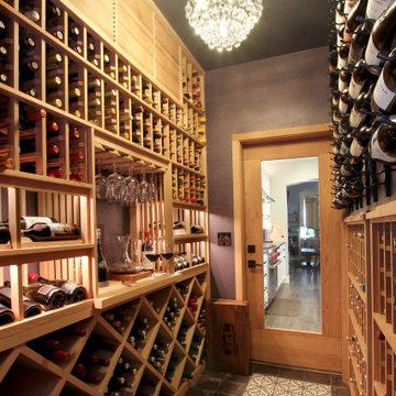 A Wine Connoisseur's Home