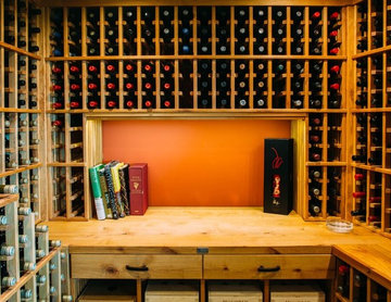 Abstract Artistic Wine Cellar - Building Meccas