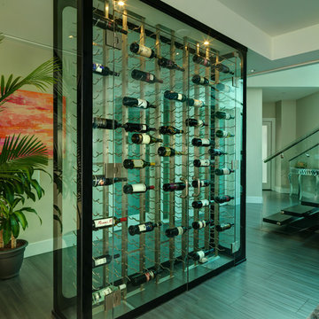 All Glass Wine Cellar