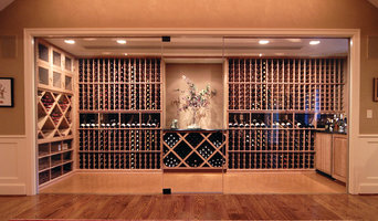 All Heart Redwood Glass Enclosed Wine Cellar