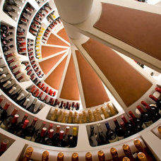 Modern Wine Cellar by Andrew Renn