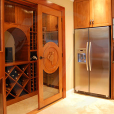 Traditional Wine Cellar by Vinotemp