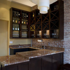 contemporary wine cellar by Sybil Jane Barrido, ASID, CID - SJVD DESIGN
