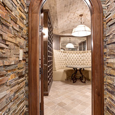 Wine Cellar by Fowler Interiors