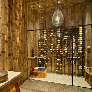 Automated Contemporary Wine Cellar