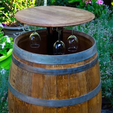 automated Wine Barrel Bar