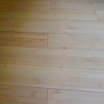 Bamboo Flooring by Wine Cellar Specialists and Cooling Unit by US Cellar Systems