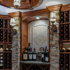 Traditional Wine Cellar by Emery Design & Woodwork
