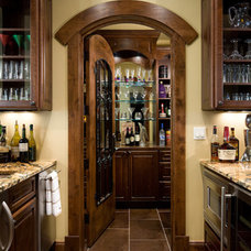 Wine Cellar by Julie Dreiling Interiors, LLC