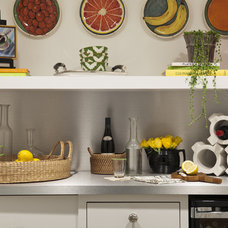 Eclectic Wine Cellar by Lucy Interior Design