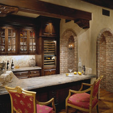 Traditional Wine Cellar by Bess Jones Interiors