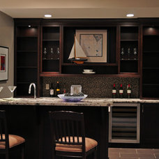 Modern Wine Cellar by Michael Burr Design