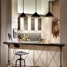 Contemporary Wine Cellar by Willetts Design & Associates
