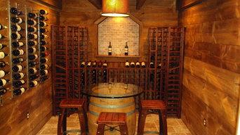 Barn Style Wine Cellar in a Box