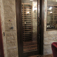 Traditional Wine Cellar by Wine Cellar Specialists