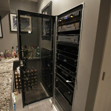 Traditional Wine Cellar by Dell Smart Home Solutions