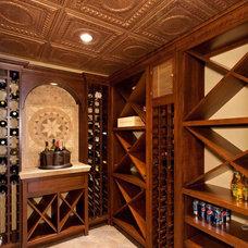 Mediterranean Wine Cellar by Custer Design Group