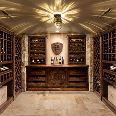 Traditional Wine Cellar by Renaissance Design & Renovation