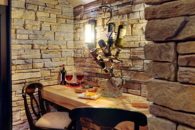 Traditional Wine Cellar by Shouldice Media
