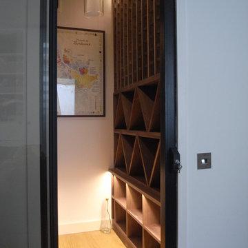 Basement Wine Racking Installation, Fulham, London