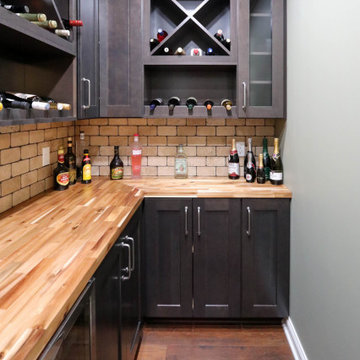 Basement Wine Room for Wine Enthusiasts - Hinckley, OH