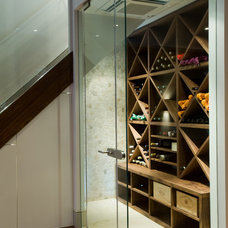 Contemporary Wine Cellar by Urban Cape