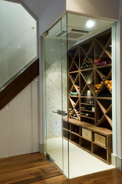 Contemporary Wine Cellar by Urban Cape