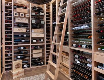 Beach Style Wine Cellar