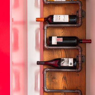 Inspiration för en industriell vinkällare