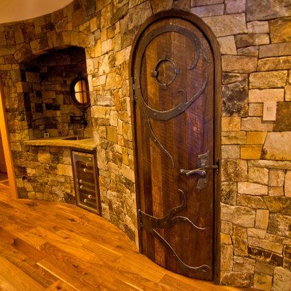 Contemporary Wine Cellar by SMPL Design Studio