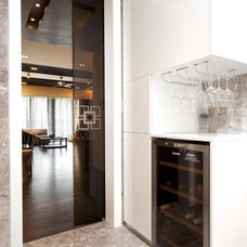 Modern Wine Cellar by S.I.D.Ltd.