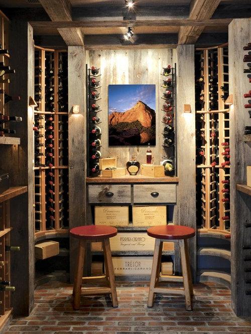 Rustic wine cellar design ideas remodels photos - Bodegas caseras ...