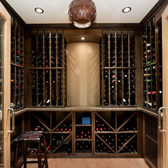 contemporary wine cellar Bellevue House