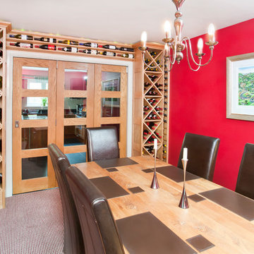 Bespoke Wine Rooms and Shelving
