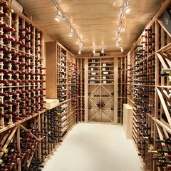 modern wine cellar by Best Builders ltd