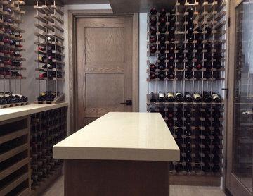 Beverly Hills Los Angeles California Contemporary Custom Wine Cellar Wine Room