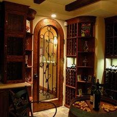 Mediterranean Wine Cellar by BGI Architects