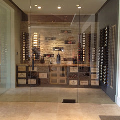 modern wine cellar by Winepine