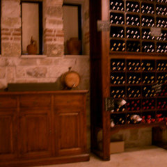 mediterranean wine cellar by Angel Mangarakov