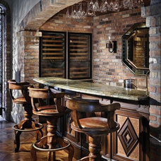 Traditional Wine Cellar by tuthill architecture